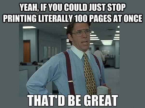 office space meme printing pages