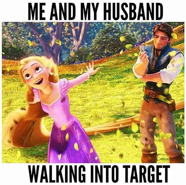 princess meme me and my husband...