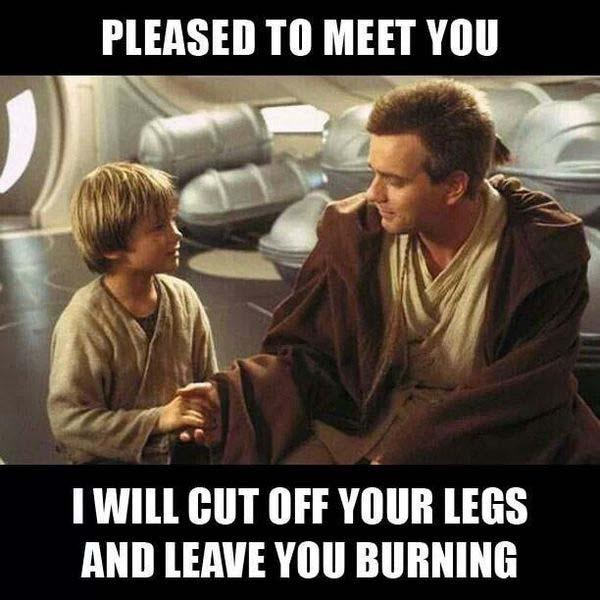 star wars memes clean pleased to meet you