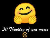 30 Thinking of you meme