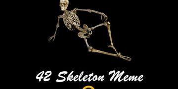 42 Skeleton Meme