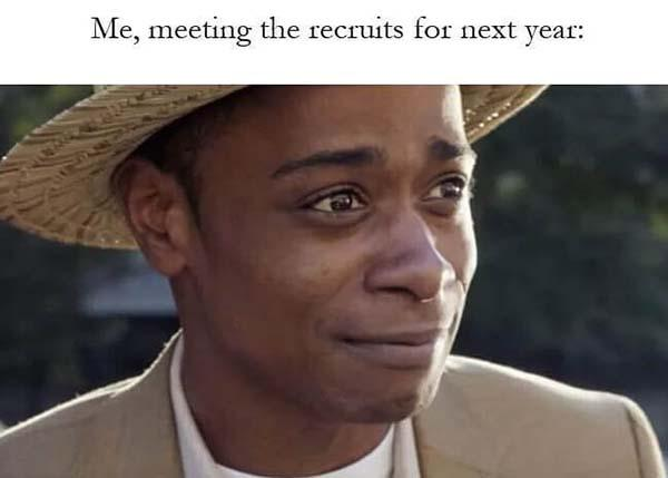 get out meme meeting for the next year