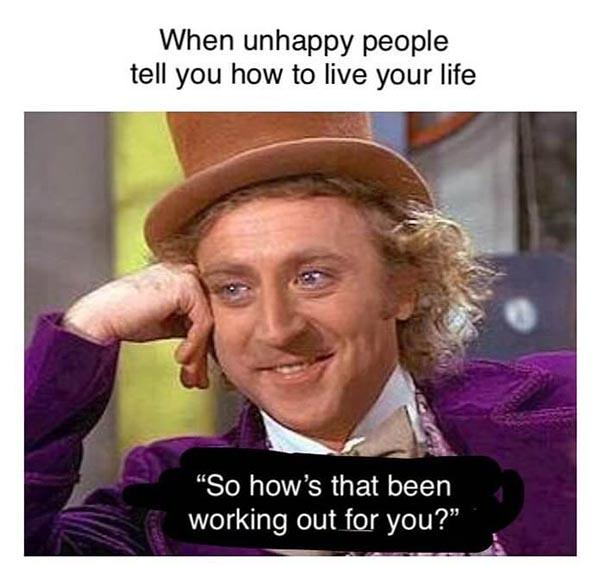 willy wonka meme unhappy people