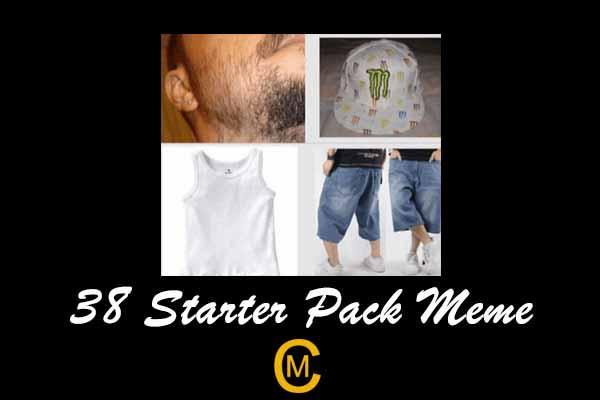 38 Starter Pack Meme