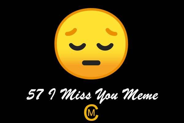 57 I Miss You Meme