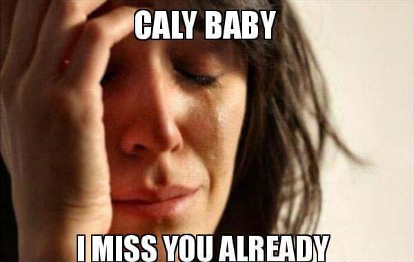 Call baby i miss you already