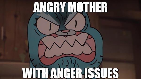 angry mom meme