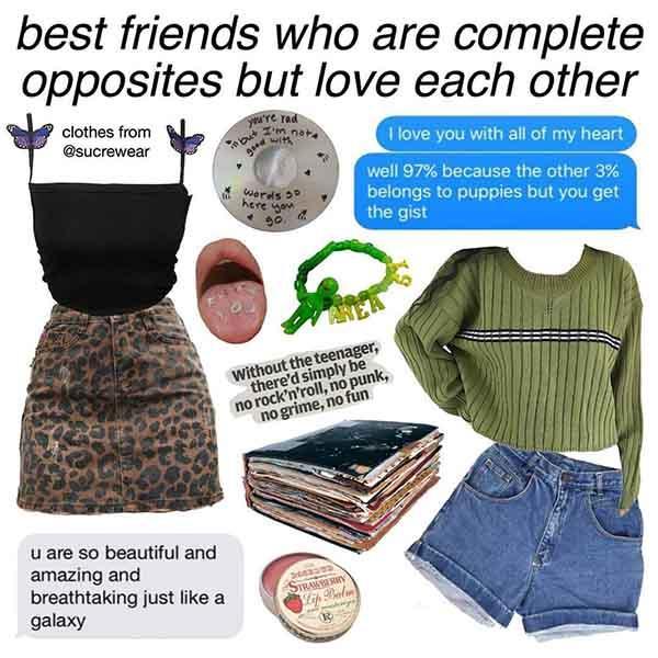 best friend starter pack