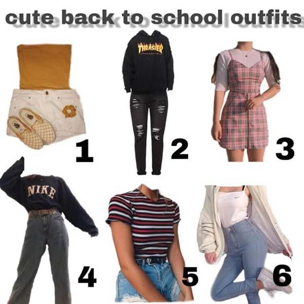 cite back to school outfits starter pack