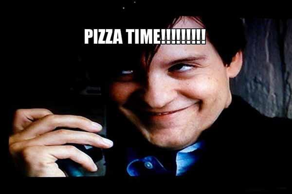 funny pizza-time