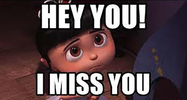 hey you i miss you