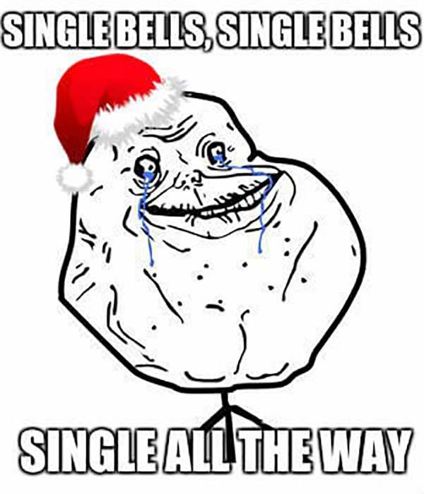 meme face xmas single bells