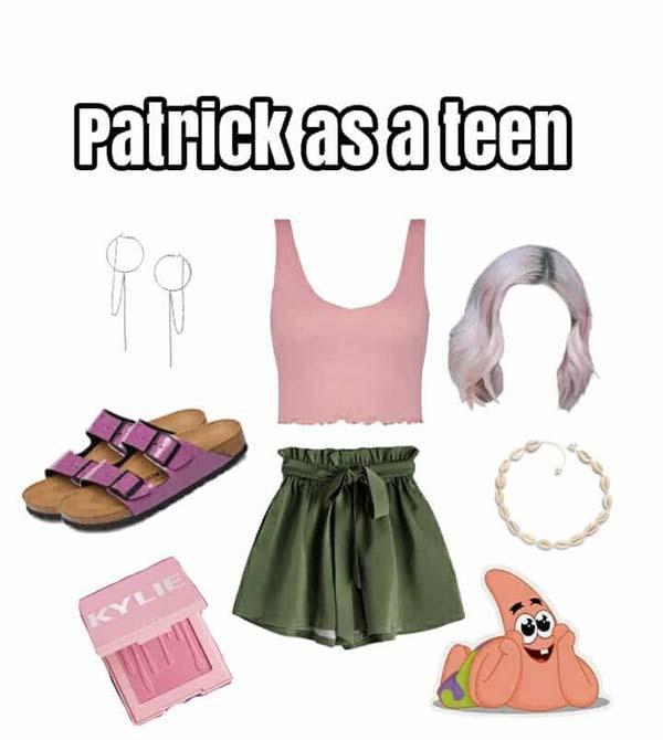 patrick as a teen starter pack