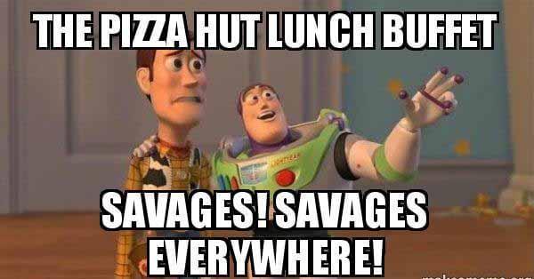 pizza hut meme