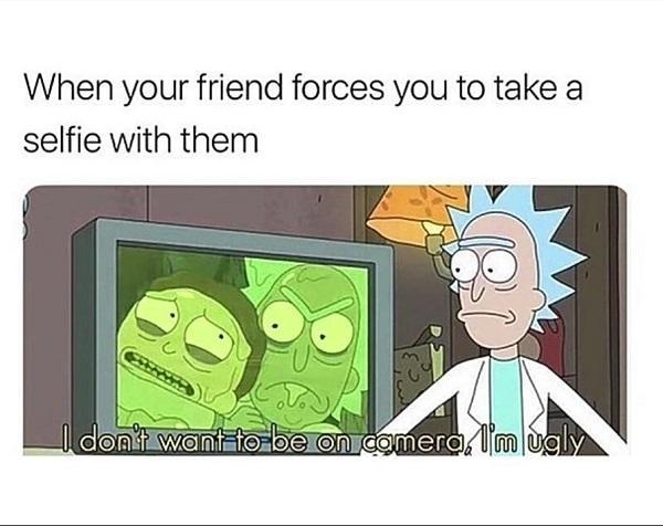 rick and morty dank meme