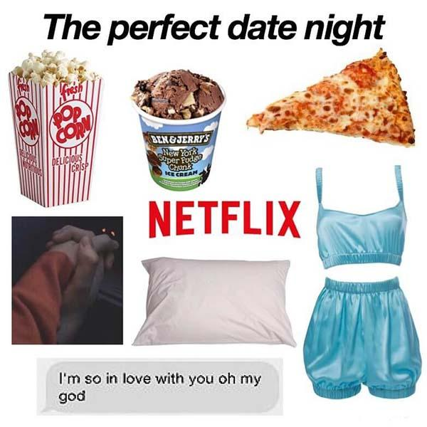 the perfect date night starter pack