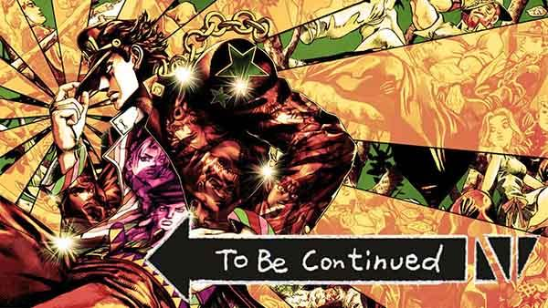 to be continued meme jojo