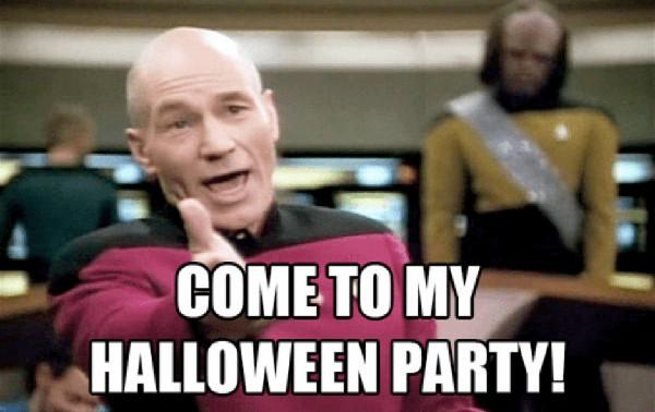 Come to my halloween party