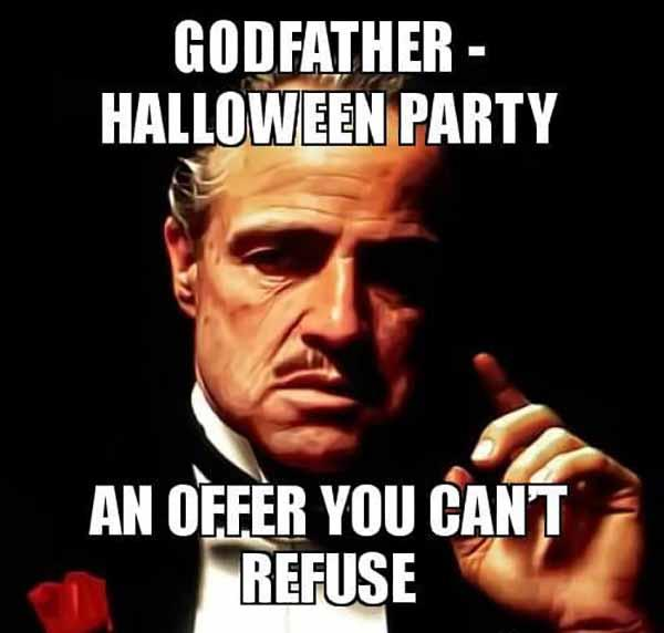 Godfather - Halloween Party An Offer You can't refuse