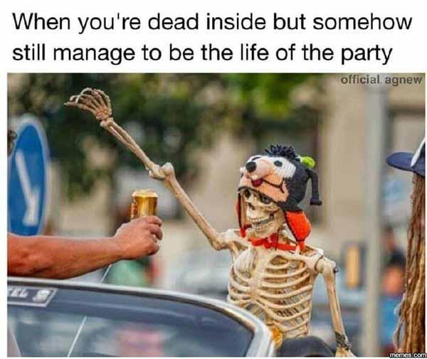 Halloween party's memes