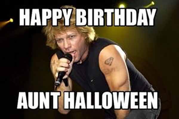 Happy birthday halloween memes