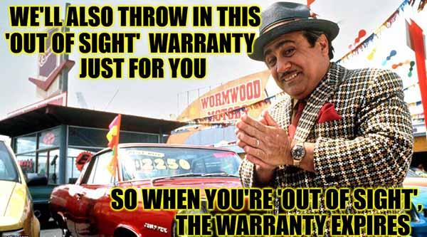 Used Car Salesman Has A Deal For You