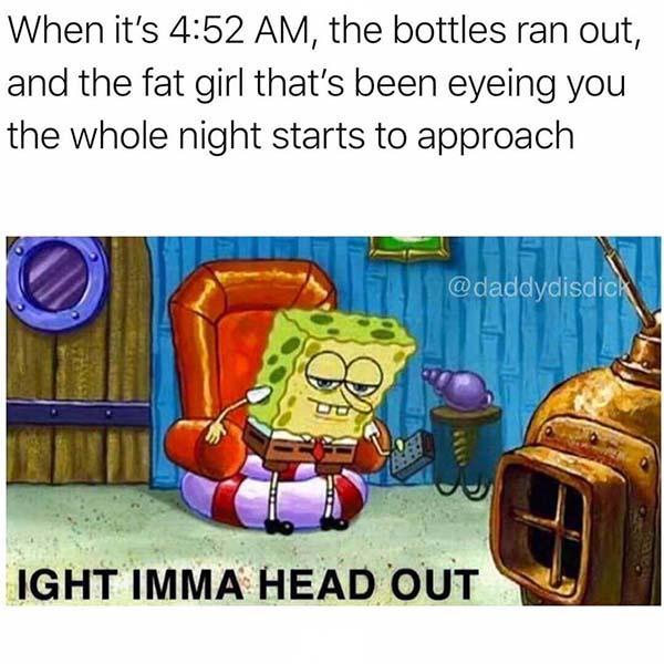 When it's 4.52am savage meme