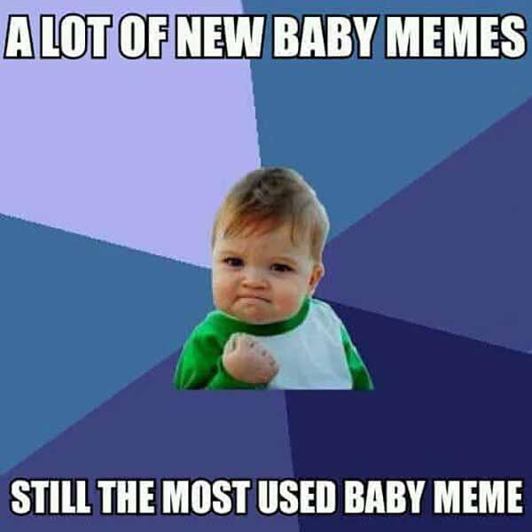 a lot of new baby meme