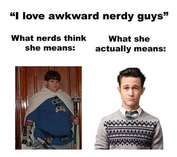 actually nerd meme