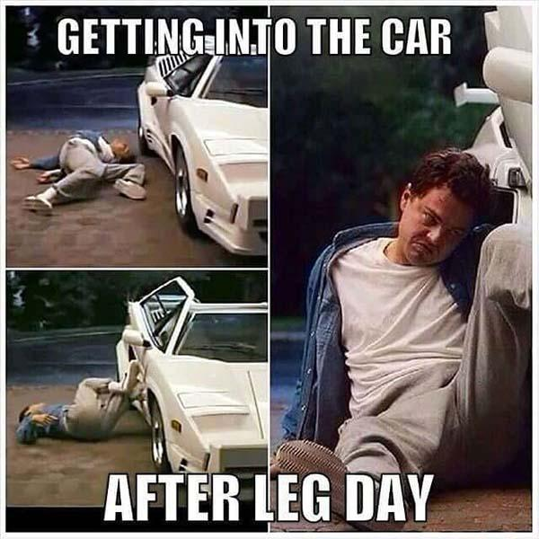 after leg day meme