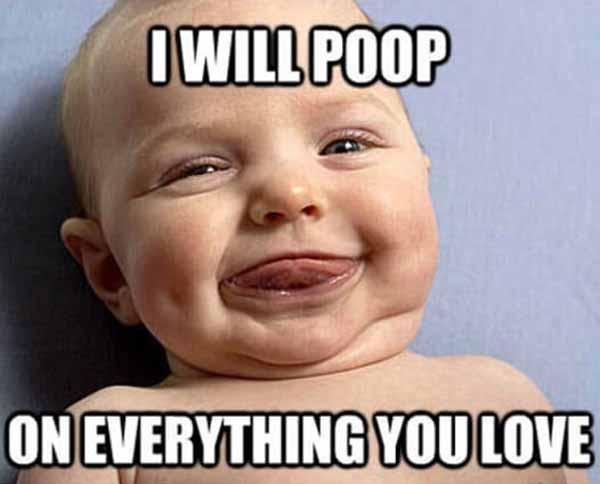 baby poop meme