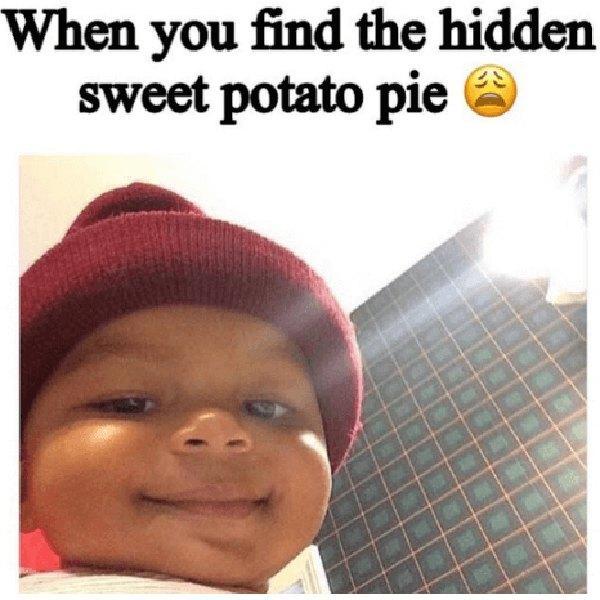 baby smiling meme