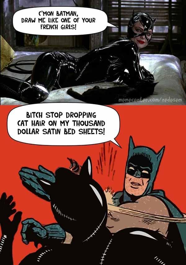 batman catwoman meme