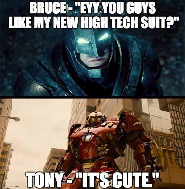 batman iron man meme
