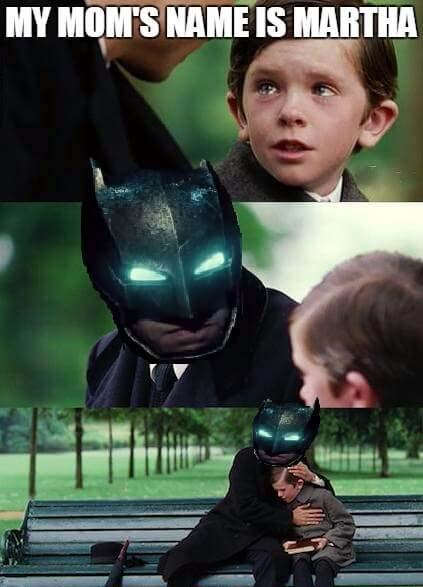 batman martha meme