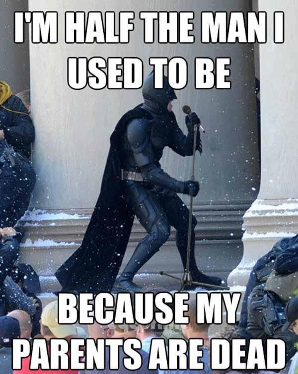 batman my parents are dead meme