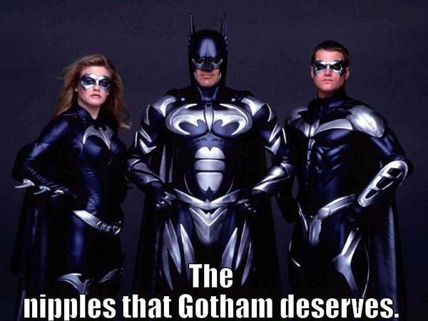 batman nipples meme