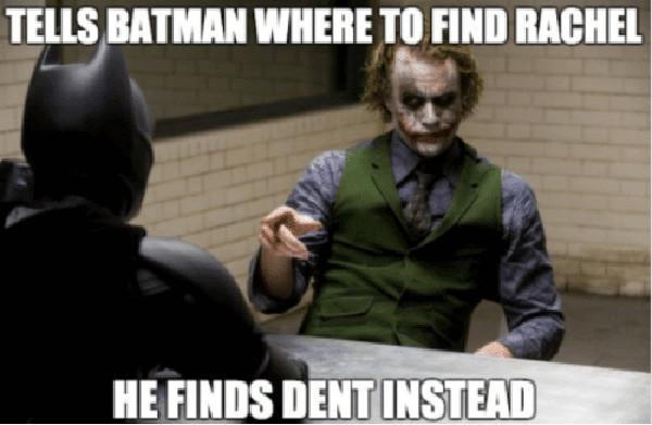batman rachel meme