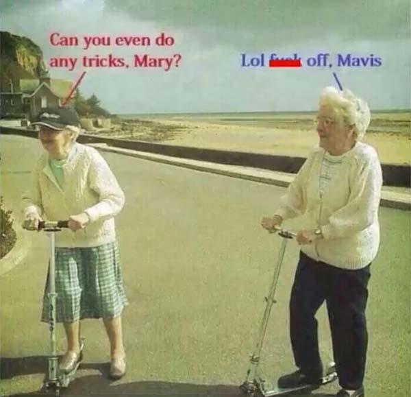 can you even do any tricks, Mary... Savege Meme
