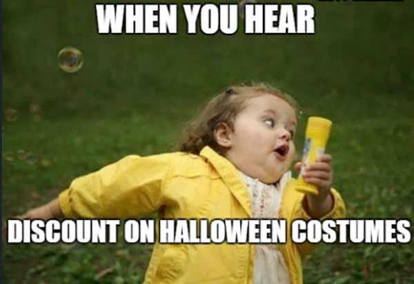 cute halloween meme
