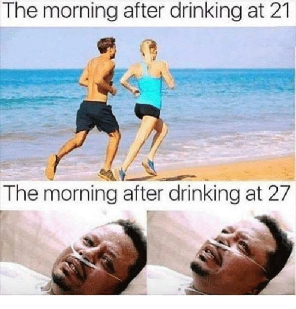 day after drinking meme