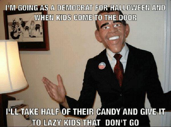 democrat halloween meme