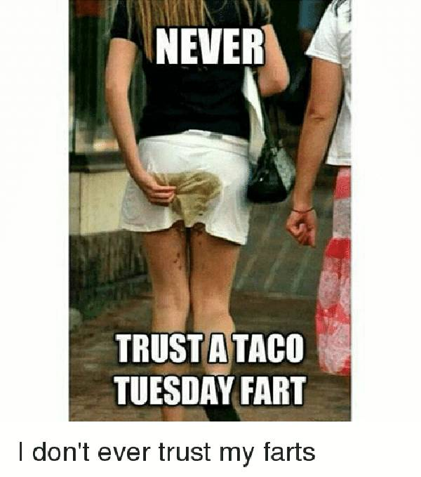 don't trust a fart meme