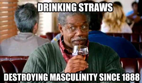 drinking straw meme