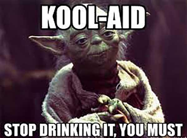 drinking the kool aid meme