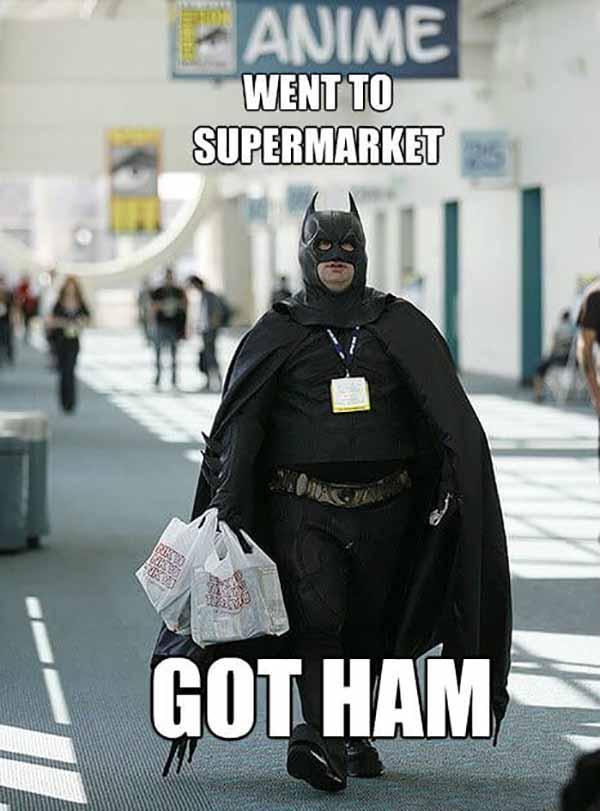 fat batman meme