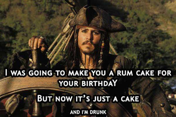 funny happy birthday drinking meme