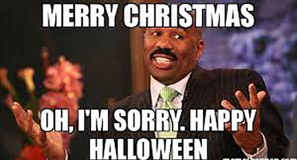 funny happy halloween meme