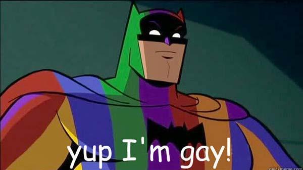 gay batman meme