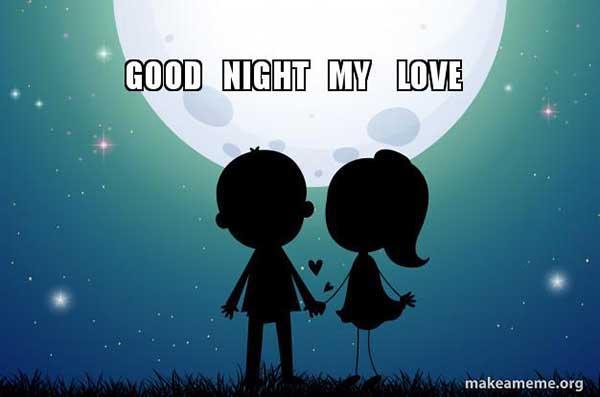 good night love meme